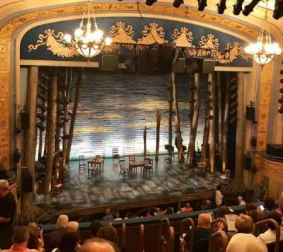 Gerald Schoenfeld Theatre, section: Mezzanine Left, row: H, seat: 7