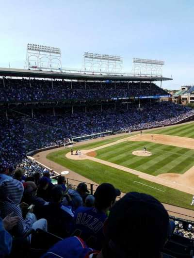 Wrigley Field, section: 431, row: 6, seat: 106