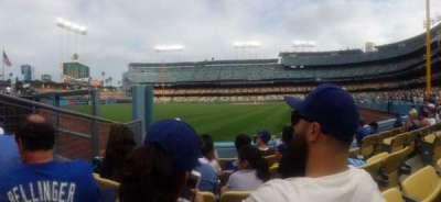 Dodger Stadium, section: 53FD, row: D, seat: 5