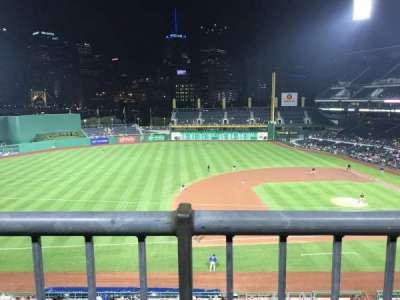 PNC Park, section: 225, row: A, seat: 6