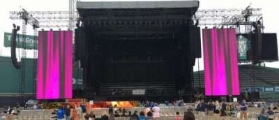 Fenway Park, section: C4, row: 1, seat: 15