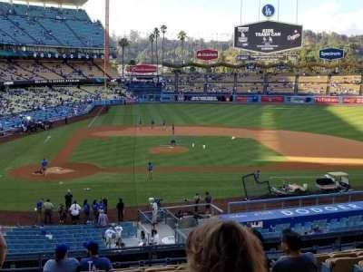 Dodger Stadium, section: 124LG, row: L, seat: 1