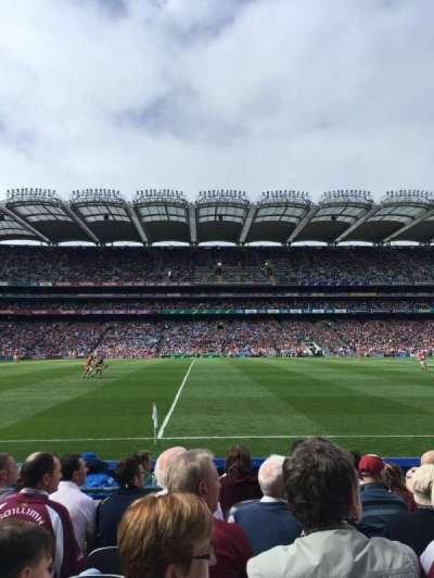 Croke Park, section: 307, row: G, seat: 24