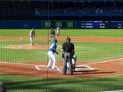 Rogers Centre, section: 122L, row: 11, seat: 108