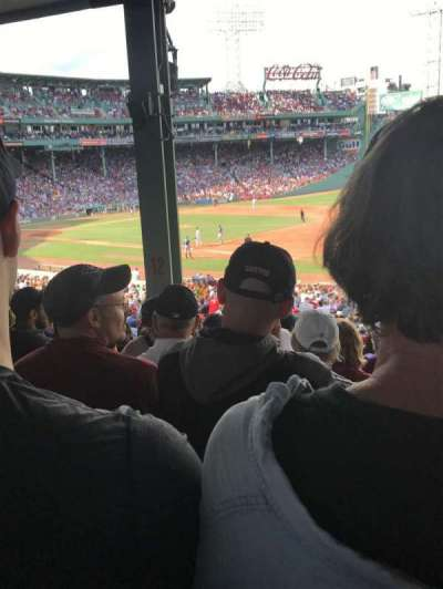 Fenway Park, section: Grandstand 12, row: 10, seat: 6