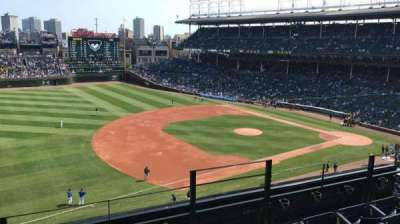 Wrigley Field, section: 409, row: 4, seat: 103