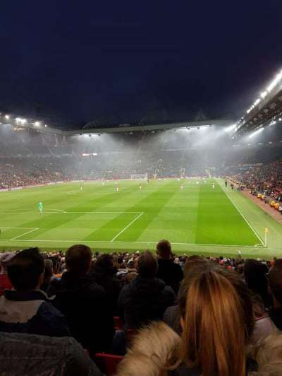 Old Trafford, section: W208, row: 12, seat: 125