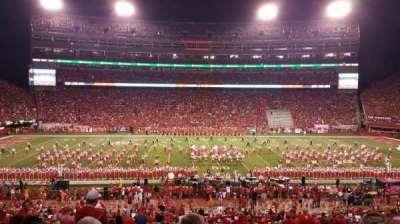 Memorial Stadium, section: 27, row: 36, seat: 6