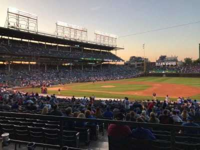 Wrigley Field, section: 231, row: 3, seat: 8