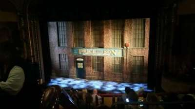Al Hirschfeld Theatre, section: MEZZR, row: H, seat: 2