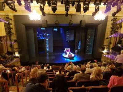 Music Box Theatre, section: Mezzanine Center, row: K, seat: 113