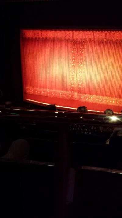 Prince Edward Theatre, section: Dress circle, row: F, seat: 8