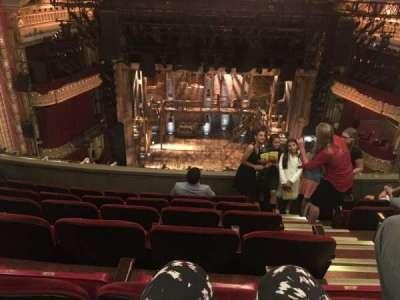 PrivateBank Theatre, section: Balcony LC, row: F, seat: 403