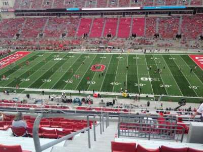 Ohio Stadium, section: 20C, row: 14, seat: 15-16
