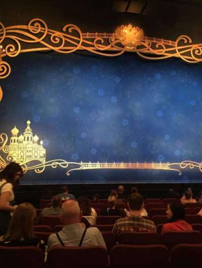 Broadhurst Theatre, section: Center Orchestra, row: K, seat: 101
