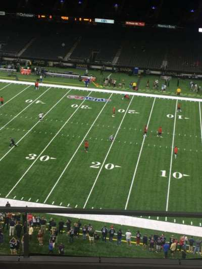 Mercedes-Benz Superdome, section: 509, row: 4, seat: 18