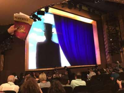 Lunt-Fontanne theatre, section: Orchestra, row: O, seat: 17