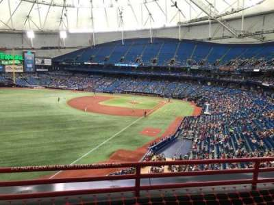 Tropicana Field, section: 341, row: C, seat: 16