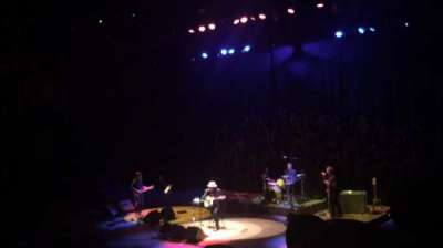 Massey Hall, section: RSB, row: 3, seat: 101