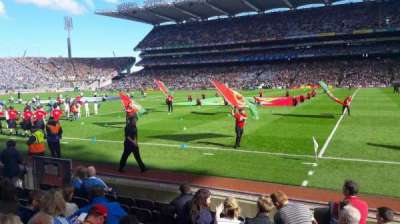 Croke Park, section: 329 hoganstand lower, row: j, seat: 27