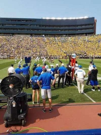Michigan Stadium, section: 43, row: A, seat: 1