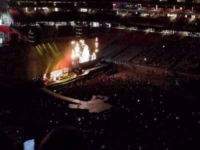University of Phoenix Stadium, section: 437, row: 19, seat: 15