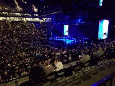 Barclays Center, section: 108, row: 4, seat: 9