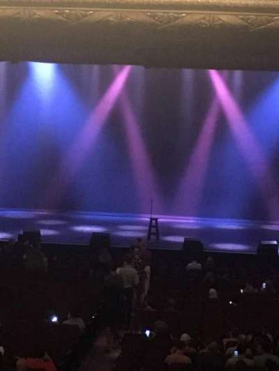 Chicago Theatre, section: Mezanine, row: Box M, seat: 3