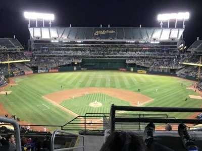 Oakland Alameda Coliseum, section: 316, row: 8, seat: 25