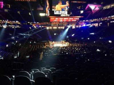 T-Mobile Arena, section: 20, row: N, seat: 5
