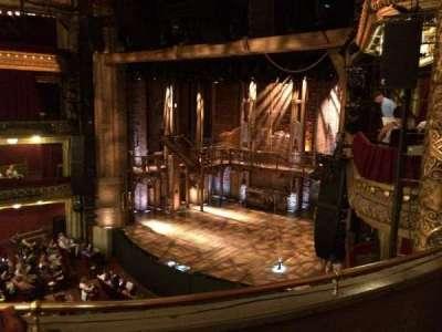 CIBC Theatre, section: Mezzanine right, row: C, seat: 16