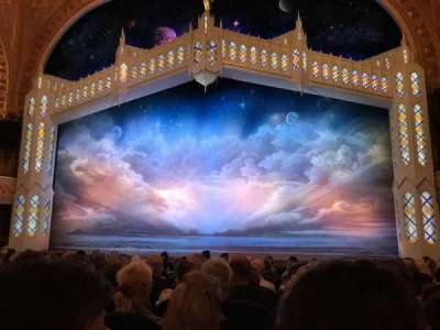 Eugene O'Neill Theatre, section: Orchestra Center, row: M, seat: 101