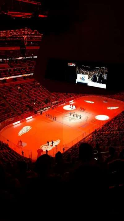 Little Caesars Arena, section: 216, row: 11, seat: 7
