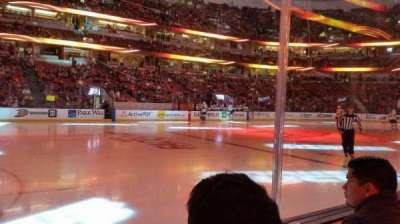 Honda Center, section: 224, row: B, seat: 8