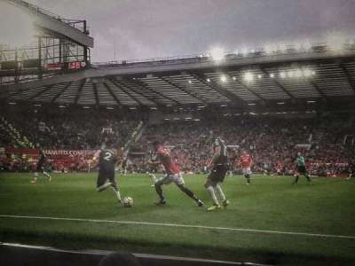 Old Trafford, section: N1407, row: BB, seat: 155