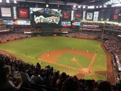 Chase Field, section: 319, row: 23, seat: 11