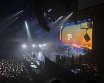 Bill Graham Civic Auditorium, section: 210, row: B, seat: 6