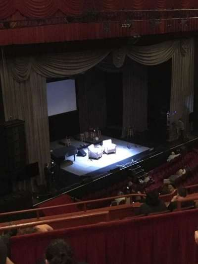 Chicago Theatre, section: BALC1L, row: D, seat: 115