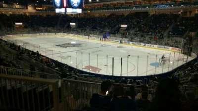 Ricoh Coliseum, section: 107, row: L, seat: 15