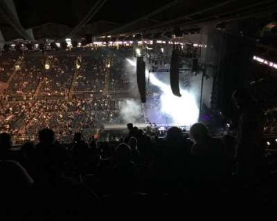 Oracle Arena, section: 232, row: 17, seat: 6