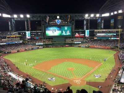 Chase Field, section: 317, row: 11, seat: 12