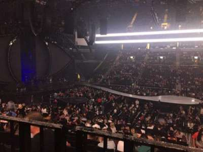 Barclays Center, section: 124, row: 4, seat: 3