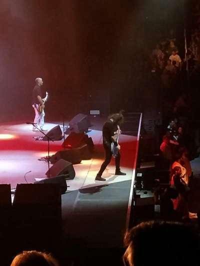 Greensboro Coliseum, section: 107, row: MM, seat: 2