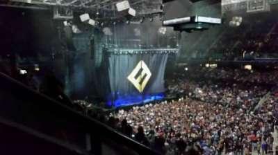 Greensboro Coliseum, section: 214, row: F, seat: 11