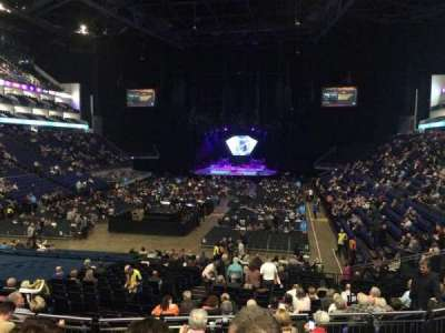 The O2 Arena, section: 108, row: U, seat: 228