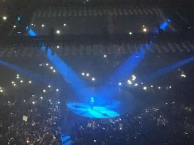 The O2 Arena, section: 420, row: L, seat: 925