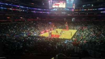 Staples Center, section: 215, row: 6, seat: 3
