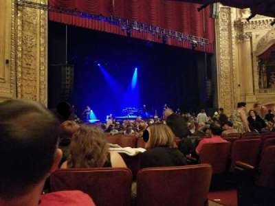Chicago Theatre, section: Main Floor L, row: G, seat: 205