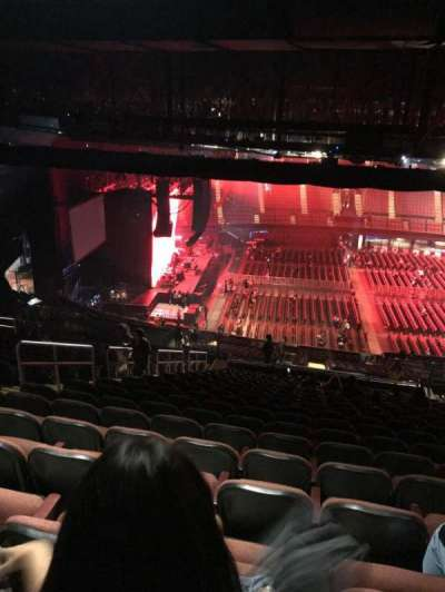 The Forum, section: 226, row: 23, seat: 8