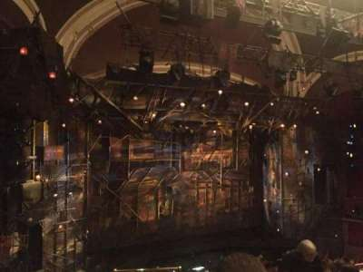 Broadway Theatre - 53rd Street, section: Front Mezzanine, row: F, seat: 4